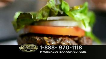 Chicago Steak Company Steak Burgers TV Spot, 'Tender and Juicy' - Thumbnail 4