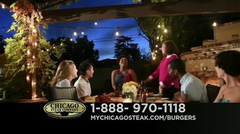 Chicago Steak Company Steak Burgers TV Spot, 'Tender and Juicy' - Thumbnail 5