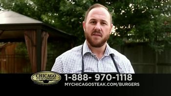 Chicago Steak Company Steak Burgers TV Spot, 'Tender and Juicy' - Thumbnail 6