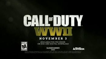 Call of Duty: WWII TV Spot, 'A Mighty Endeavor' - Thumbnail 6