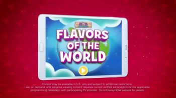 DisneyNOW TV Spot, 'Flavors of the World' - 39 commercial airings