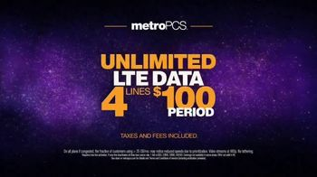 MetroPCS Unlimited LTE Data TV Spot, 'Cake' - Thumbnail 7