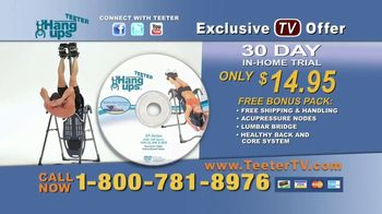 Teeter Hang Ups TV Spot, 'Better Back' - Thumbnail 7