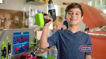 Little Tikes Construct N' Learn Smart Workbench TV Spot, 'Build Some Fun'