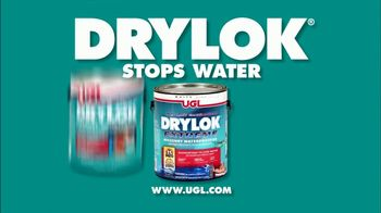 UGL DRYLOK TV Spot, 'Whatever You Have in Mind' - Thumbnail 8
