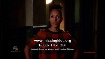 National Center for Missing & Exploited Children TV Spot, 'Equal'