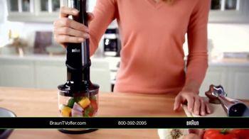Braun MultiQuick 7 TV Spot, 'Versatile' Featuring Sharone Hakman