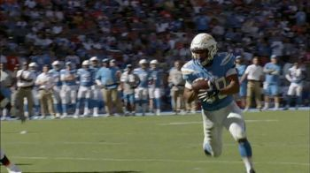 Papa John's TV Spot, 'NFL: Better Ingredients of the Week: Chargers' - 5 commercial airings
