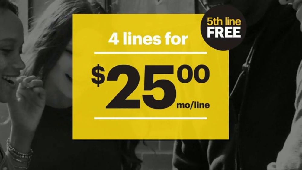 Sprint Unlimited TV Commercial, 'The Best Price: Fifth Line Free'