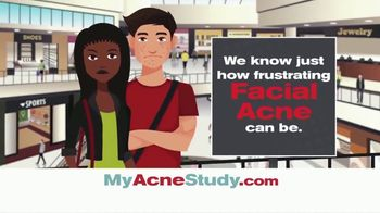 MyAcneStudy.com TV Spot, 'Facial Acne Research Study' - Thumbnail 1