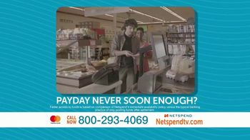 NetSpend Prepaid Mastercard TV Spot, 'Payday Comes Faster' - Thumbnail 1