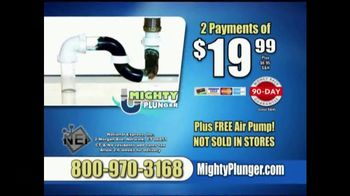 Mighty Plunger TV Spot, 'The Mess Is Out' - Thumbnail 10