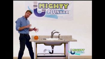 Mighty Plunger TV Spot, 'The Mess Is Out'