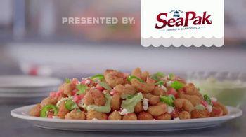 SeaPak Popcorn Shrimp TV Spot, 'Popcorn Shrimp Tot'chos' - Thumbnail 9