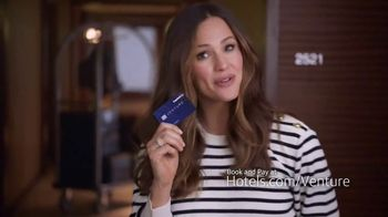 Capital One Venture TV Spot, 'Hotels.com: Ice Bucket' Feat. Jennifer Garner