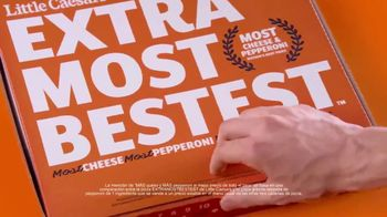 Little Caesars EXTRAMOSTBESTEST Pizza TV Spot, 'Ingredientes' [Spanish] - Thumbnail 5