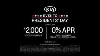 Kia Evento Presidents Day TV Spot, 'La mejor compra: en el camino' [Spanish] [T2] - Thumbnail 10