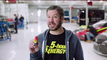5 Hour Energy TV Spot, 'The Garage to 100 Percent' Feat. Martin Truex Jr.