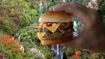 Carl's Jr. Charbroiled Sliders TV Spot, 'Nature' - Thumbnail 4