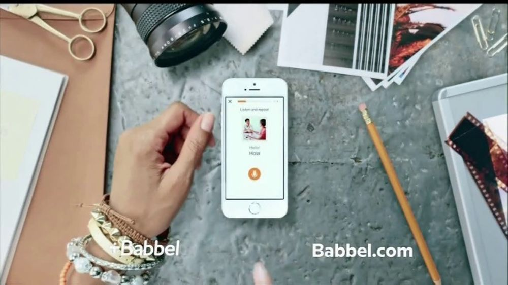 Babbel TV Commercial, 'Real Life Conversations'