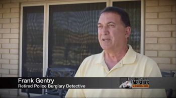 Security Screen Masters TV Spot, 'Frank Gentry: Retired Police Detective'