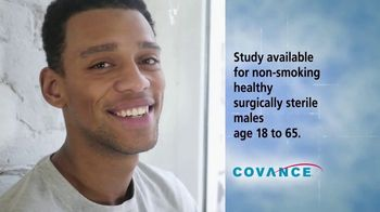 Covance Clinical Trials TV Spot, \'Surgically-Sterile Men\'