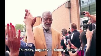 Pro Football Hall of Fame TV Spot, '2018 Enshrinement: Greatest Day' - Thumbnail 7