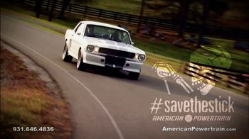 American Powertrain TV Spot, 'The Pros Agree #SaveTheStick' - Thumbnail 1