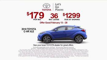 2018 Toyota C-HR XLE TV Spot, '2018 Olympics: DNA' [T2] - Thumbnail 9