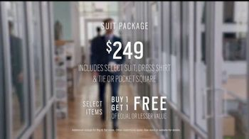Men's Wearhouse TV Spot, 'First Day: Suit Packages' - Thumbnail 5