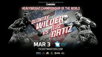 Premier Boxing Champions TV Spot, 'Wilder vs. Ortiz' - Thumbnail 8