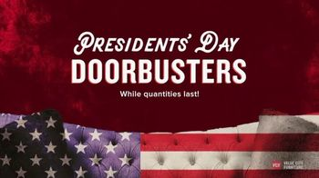 Value City Furniture Presidents' Day Sale TV Spot, 'Storewide Discounts' - Thumbnail 10