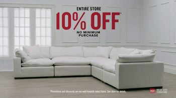Value City Furniture Presidents' Day Sale TV Spot, 'Storewide Discounts' - Thumbnail 5