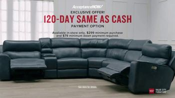 Value City Furniture Presidents' Day Sale TV Spot, 'Storewide Discounts' - Thumbnail 7