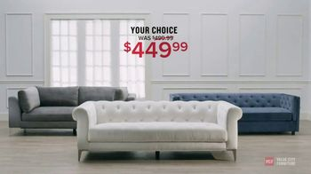 Value City Furniture Presidents' Day Sale TV Spot, 'Storewide Discounts' - Thumbnail 9