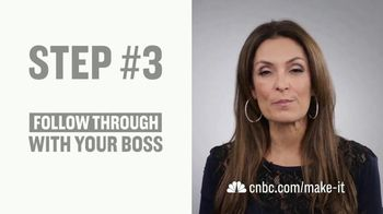 CNBC Make It TV Spot, 'Getting a Raise' Featuring Suzy Welch - Thumbnail 8