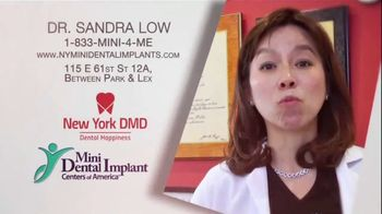 Mini Dental Implant Centers of America TV Spot, 'Dr. Sandra Low' - Thumbnail 9
