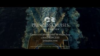 Princess Cruises TV Spot, 'Vivir a lo grande' [Spanish] - Thumbnail 10