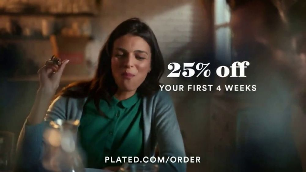 Plated TV Commercial, 'Perfectly Plated'