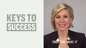 CNBC Make It TV Spot, 'Keys for Success' Featuring Morgan Brennan - Thumbnail 5