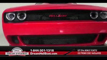 2017 Challenger Dream Giveaway TV Spot, 'Meet the Demon Slayer HellScat' - Thumbnail 3