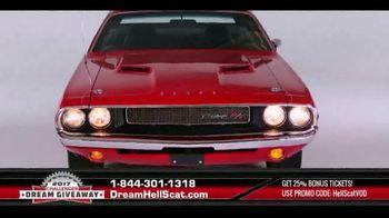 2017 Challenger Dream Giveaway TV Spot, 'Meet the Demon Slayer HellScat'