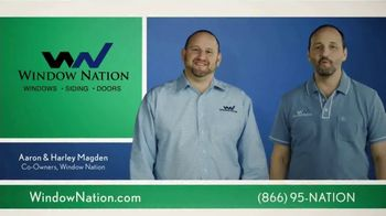 Window Nation TV Spot, 'A Family-Owned Window Replacement Company'