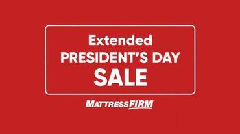 Mattress Firm President's Day Sale TV Spot, 'Most Popular Offer Extended' - Thumbnail 1