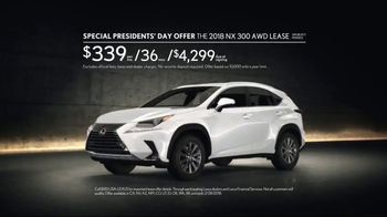 Lexus Special Presidents' Day Offer TV Spot, 'Cabin Fever' Song by Farmdale [T2] - Thumbnail 8
