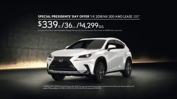 Lexus Special Presidents' Day Offer TV Spot, 'Cabin Fever' Song by Farmdale [T2] - Thumbnail 7