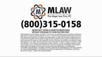 Meyer Law Firm TV Spot, 'Invokana: Amputations' - Thumbnail 6