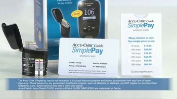 Accu-Chek Guide SimplePay TV Spot, 'Expense Fluctuation' - Thumbnail 6