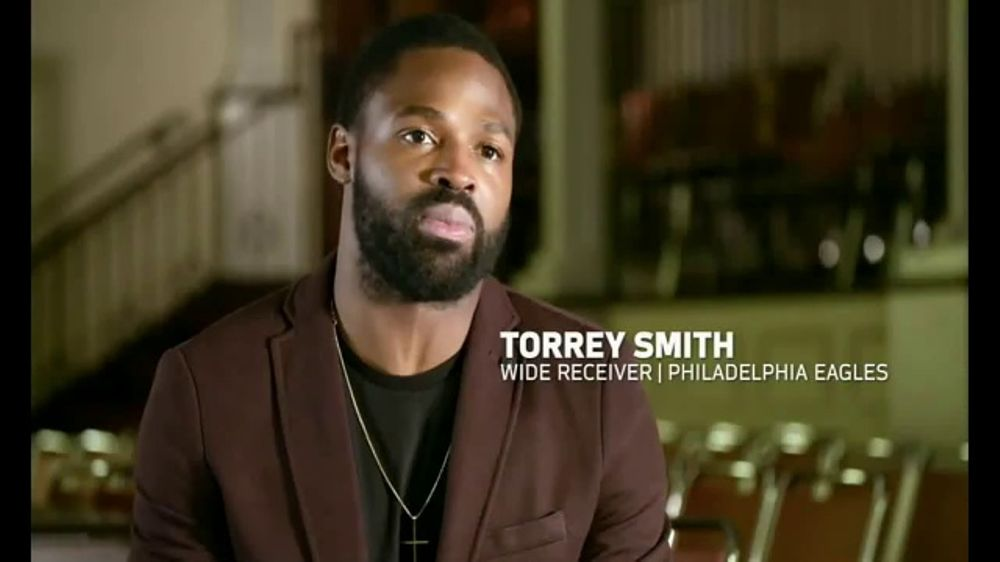 NFL TV Commercial, '#LetsListenTogether' Feat. Torrey Smith, Malcolm Jenkins