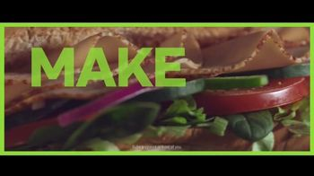 Subway TV Spot, 'Make It What You Want: Fit and Fresh' - Thumbnail 6